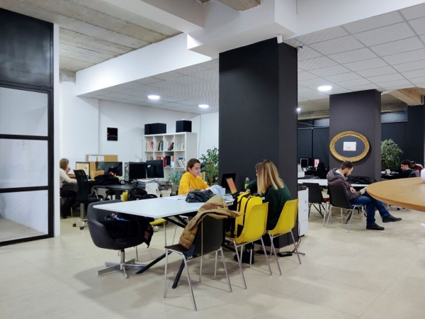 Coworking in new spaces